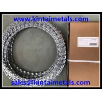 Buy cheap 500mm 15m BTO-22 galvanized concertina  razor wire for  wire fence from wholesalers