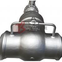 Buy cheap Cast Steel Flex / Solid Wedge Gate Valve With Bypass Valve HF Seal API / DIN Standard from wholesalers
