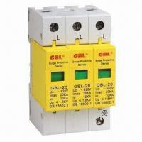 Buy cheap Voltage Power Surge Protector with 5 to 10A Rated Current and 50/60Hz Frequency from wholesalers