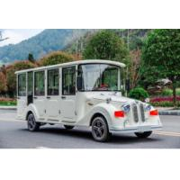 Buy cheap 8 Seats Electric Sightseeing Car , Electric Tour Bus 30km / H Max Speed from wholesalers