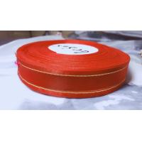 Buy cheap Double Face 100 Nylon Silk Organza Ribbon For Clothing Accessories from wholesalers