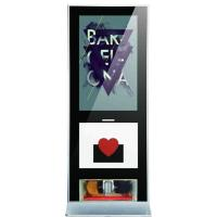 Buy cheap WIFI 3G Free Standing LCD Display Shoe Polisher , Digital Signage Advertising from wholesalers