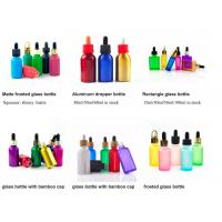 Buy cheap 1oz 50ml Cosmetic Glass Bottles With Glass Pipette For Essential Oil  OEM from wholesalers