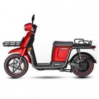 Buy cheap Wheelbase 1315mm Electric Mobility Scooter Red Color Net Weight 85kg With Front Basket from wholesalers