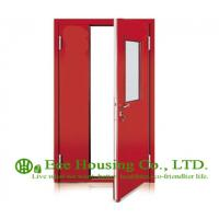 Buy cheap Steel Fire Retardant Door with Glass Vision With Fire Proof Certification, Fire Rated Door Manufacture In China from wholesalers