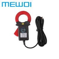 Buy cheap MEWOI140-35*40mm,AC 0.00mA~300A,Turn Ratio 1:2400 Clamp on Leakage current sensor meter from wholesalers