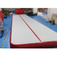 Wholesale Safety Inflatable Air Tumble Track DWF / Drop Stitch Material For Gymnastics from china suppliers