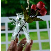 Buy cheap Pure hand-made angel vase Creative floral flower arrangement home hydroponic container gift from wholesalers