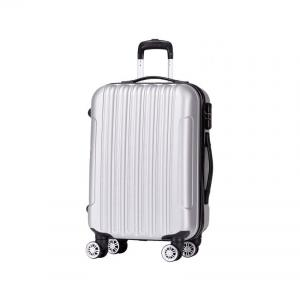 Wholesale 28'' Silver OEM 190d Four Wheel Cabin Suitcase from china suppliers