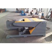 Buy cheap Hydraulic Lifting welding positioner turntable with Remote Control 5M Cable 2200 lb Capacity from wholesalers