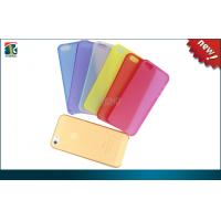 Buy cheap Ultra Thin TPU Iphone 5C Protective Cases Light With Dim Matte Craft from wholesalers