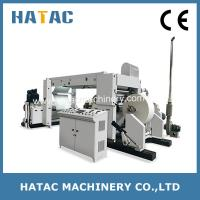 Buy cheap High Speed Thermal Paper Roll Slitter Rewinder,Bond Paper Slitting Rewinding Machine from wholesalers