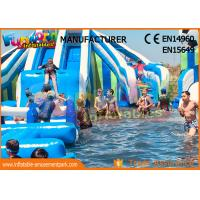 Wholesale Funworld Large Inflatable Water Slide With Swimming Pool Pvc Tarpaulin from china suppliers