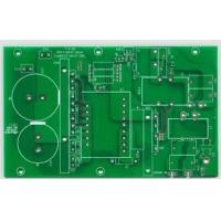 Buy cheap Custom Double sided Rigid Pcb Board FR4 1 OZ Copper , 0.075mm (3mil) E-test from wholesalers