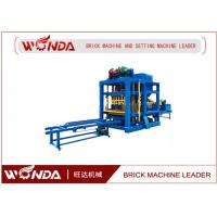 Buy cheap Cement Concre Automatic Brick Making Machine , Brick Making Equipment/ Forming Machine from wholesalers