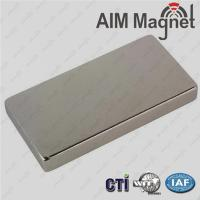 Buy cheap Permanent Neodymium Magnets N35--N52 3/8  x 0.136 x 1/8  from wholesalers