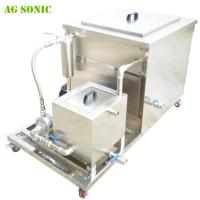 Buy cheap Industrial Ultrasonic Cleaner for the Motorcycle Industry to Remove Tough Paint , Rust from wholesalers