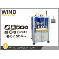 Buy cheap Thin Wire Needle Winding Machine Small BLDC Motor Stator Four Station Muti Pole Winder from wholesalers