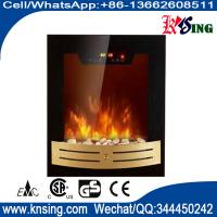 Buy cheap wall mounted fireplace wall hang real flame effect,colorful style,LED lights,Red,Orange,Blue,EF590/EF590K,space heater from wholesalers