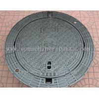 Buy cheap High Quality Iron Cast Lockable Hinged Manhole Covers Make In China from wholesalers