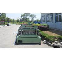Buy cheap Metal Roll Forming Equipment , Galvanized Floor Decking Forming Machine product