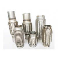 Buy cheap Auto spare part durable exhaust flexible pipe stainless steel 304 from wholesalers