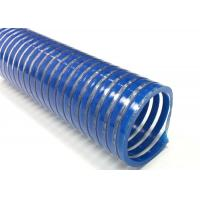 Buy cheap Spiral Reinforced PVC Suction Hose / Water Pump Pool Discharge Hose For Industry from wholesalers