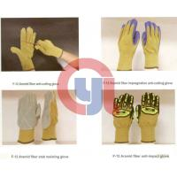 Buy cheap Customized Color Anti Cut Gloves Aramid Materials For Rescue And Relief Work from wholesalers