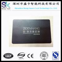 Buy cheap Stainless Steel Black Matt Metal Business Card from wholesalers