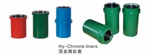 China High chrome liners for drilling mud pumps on sale