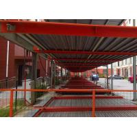 Buy cheap Safe Steel Structure For Car Parking , Silver / White Multi Storey Steel Structure from wholesalers