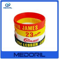 Wholesale Best Cheap Promotion gifts eco-friendly silicone wristband with custom logo from china suppliers