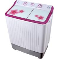 Buy cheap Colorful Twin Tub Semi Automatic Washing Machine 7kg  With Plastic Body Tempered Glass from wholesalers