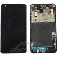 Wholesale samsung galaxy s2 i9100 lcd with frame from china suppliers