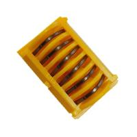 Buy cheap LT400 Titanium Ligating Clips Yellow Cartridge L Size V Shape OEM Available from wholesalers