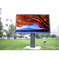 Buy cheap Outdoor LED Video Walls Fixed Install , Large LED Display Screen High Brightness from wholesalers