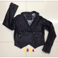 Buy cheap 8804 Ladies fashion pu jacket stock (coats,blouzes,tops) from wholesalers