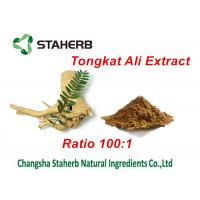 Buy cheap Tongkat Ali Extract Natural Male Enhancement Ingredients , Herbal Male Enhancement from wholesalers