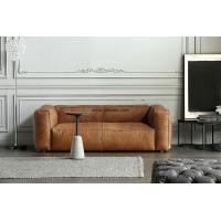 Buy cheap Hot Sell Living RoomTwo Seater or Three Seater Leather Sofa with Coffee Color. from wholesalers