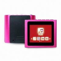 Buy cheap 1.8-inch MP4 Players with Clip, Digital Voice Recording, 16GB Micro SD/TF Card Reader from wholesalers