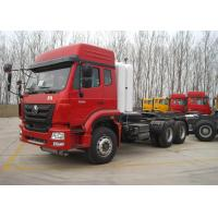 Buy cheap 50 Ton Heavy Semi Truck Mover , CNG 371HP 3 Axle 6X4 Tractor Head Trucks from wholesalers