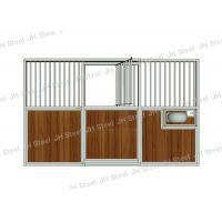 Buy cheap Hot Dip Galvanized Horse Stall Panels With Sliding Door And Feeder Door from wholesalers