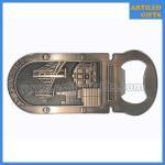 Buy cheap Antique style San francisco city tourist metal bottle opener fridge magnet from wholesalers