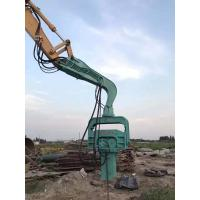 Buy cheap Compact Structure Vibratory Pile Driving Equipment Accurate Quick Piling Speed from wholesalers