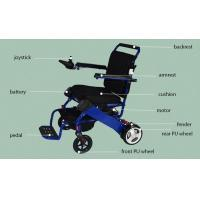 Buy cheap High Quality aluminum lightweight electric wheelchair for disabled from wholesalers