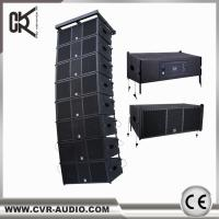 Buy cheap wireless home theater system CVR powered professional line array speaker W-210BP from wholesalers