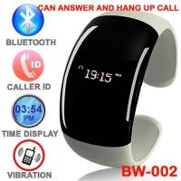 Buy cheap Bluetooth Bracelet With Caller ID Display And Vibrating Alert And Call Answering from wholesalers