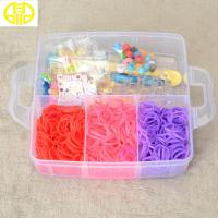 Buy cheap Latex Free Rubber Rainbow Loom Rubber Band  3000pcs bands For making Bracelet from wholesalers
