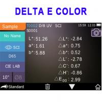 Pantone color card delta e measurement spectrophotometer with color matching system software SQC8 3NH YS3060
