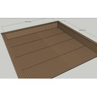 Buy cheap Construction WPC Deck Floor For River & Sea Side Walk Way / Deck Composite Material from wholesalers
